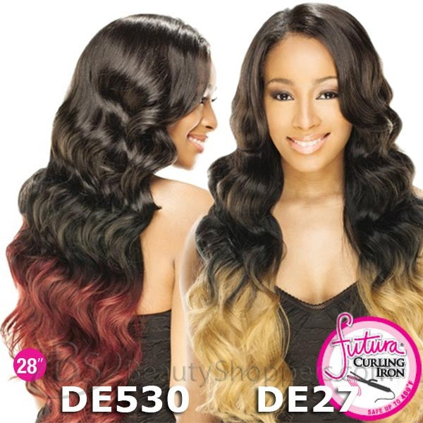 "FreeTress Equal Invisible ""L"" Part Wig - HONOR 28"""