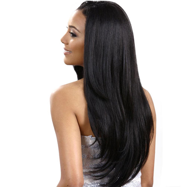 BobbiBoss Human Hair Blend Weave-A-Wig - SHARON