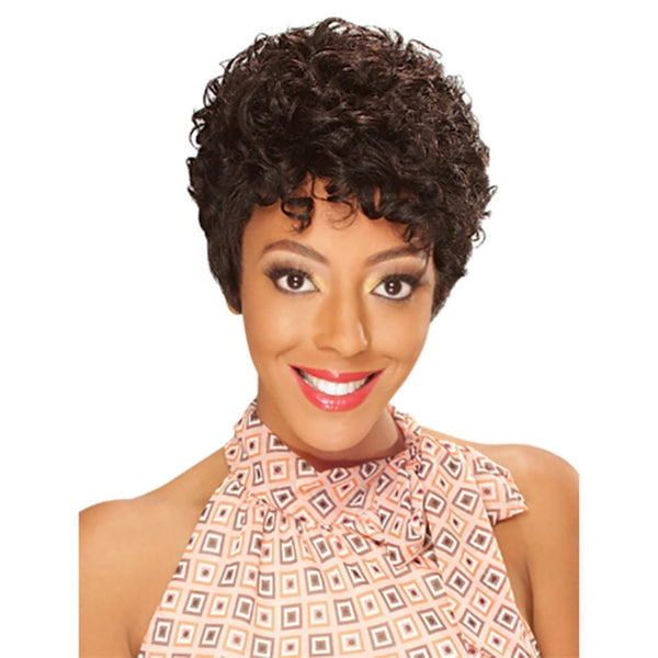 Hollywood Sis 100% Human Hair Wig - HALLIE