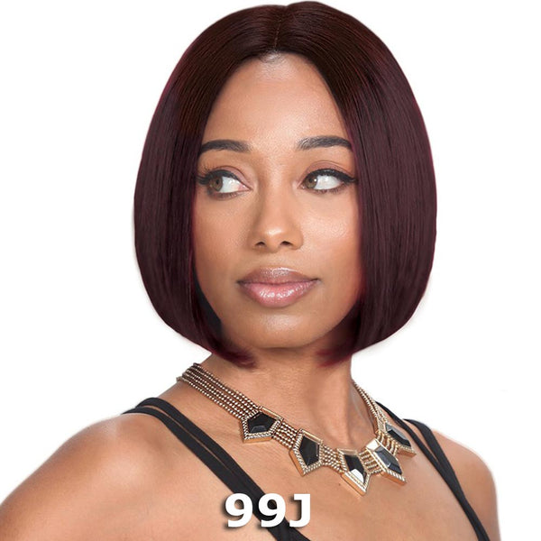 Sis Royal 100% Human Hair Swiss Lace Wig - BLANC