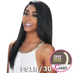 "Zury Sis Slay Natural Deep ""C""-Part Lace Front Wig - BIEN"