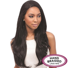Senegal Collection Hand Braided Lace Wig - J-CURL BRAIDS