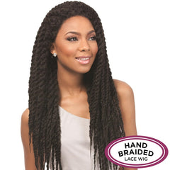 Senegal Collection Hand Braided Lace Wig - LOCKS BRAIDS