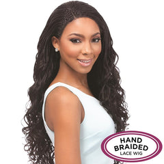 Senegal Collection Hand Braided Lace Wig - LOOSE DEEP BRAIDS
