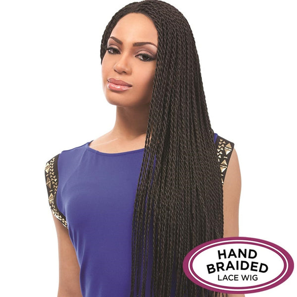 Senegal Collection Braided Lace Wig - TWIST BRAIDS
