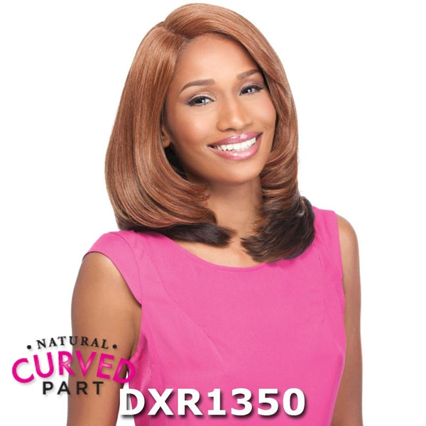 "Sensationnel Empress Cut & Blend ""C"" Part Lace Front Wig - MADISON"