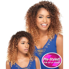 Sensationnel 2in1 Pre-Styled Totally Instant Weave - FREESIA
