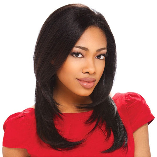 Sensationnel Human Hair Lace Front Wig - ASHLEY