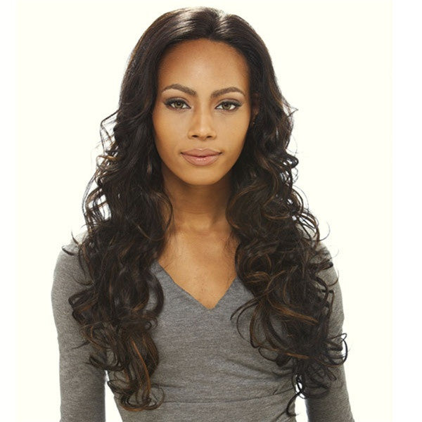 "Sensationnel Human Hair Lace Front Wig 24"" - JENNIFER"