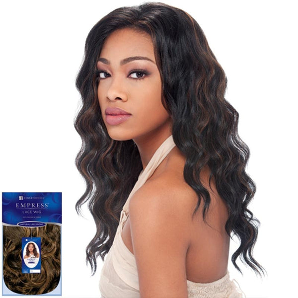 Sensationnel Empress Natural Lace Front & Nape Wig - AMY