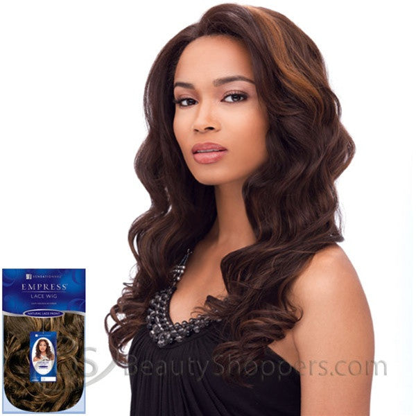 Sensationnel Empress Natural Lace Front & Nape Wig - GISELLE