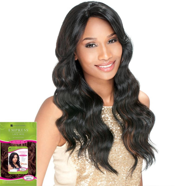 Sensationnel Empress Lace Front Wig - JULIA