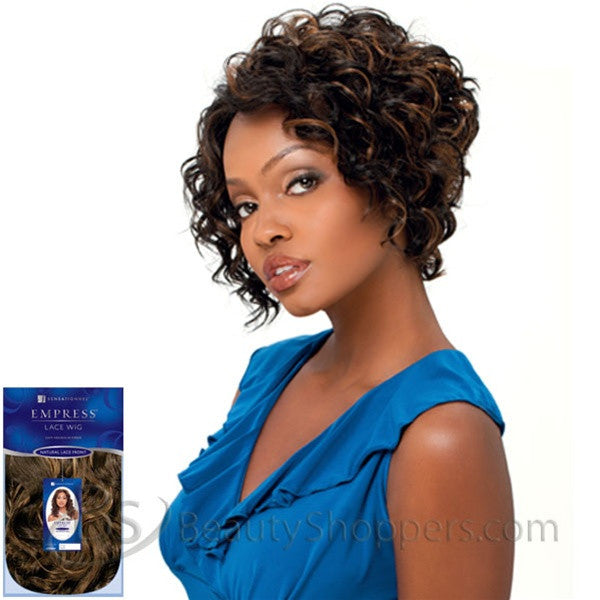 Sensationnel Empress Natural Lace Front & Nape Wig - NATALIE
