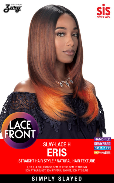"Zury Sis Slay Natural Deep ""I""-Part Lace Front Wig - ERIS"