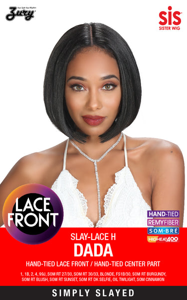"Zury Sis Slay Natural Deep ""I""-Part Lace Front Wig - DADA"