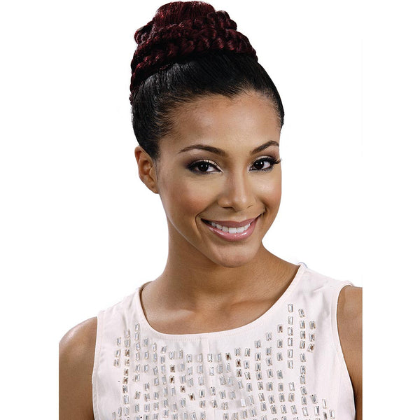 BobbiBoss Speedy Up Do Braid Bun - ROMAN HOLIDAY