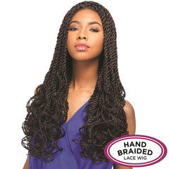 Senegal Collection Braided Lace Wig - ROLLER TWIST BRAID