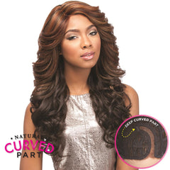 "Sensationnel Empress ""C"" Part Lace Front Wig - JASI"