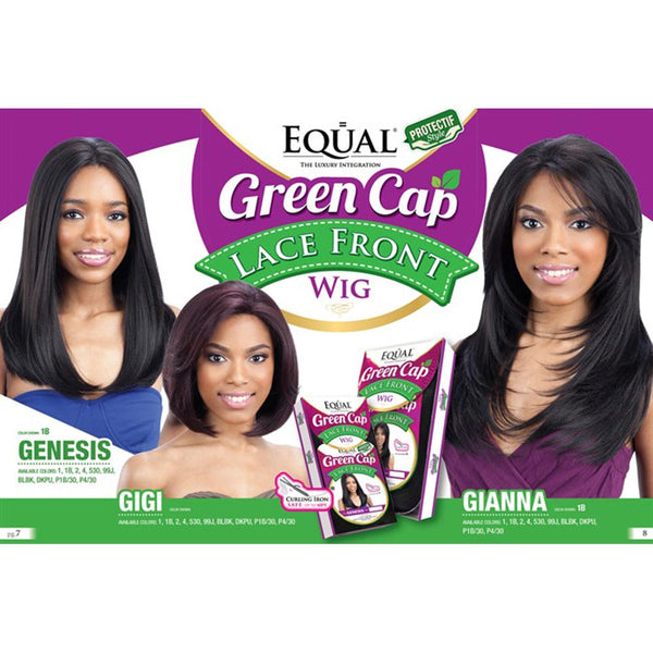 FreeTress Equal Green Cap Lace Front Wig - GIGI