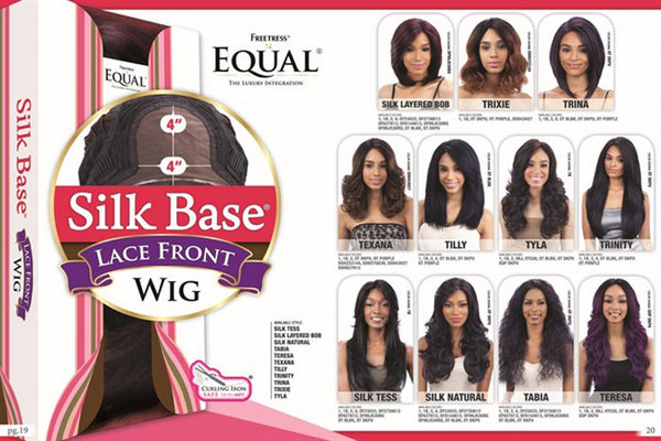 FreeTress Equal Silk Base Lace Front Wig - TABIA