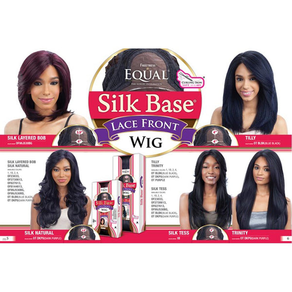 FreeTress Equal Silk Base Lace Front Wig - TERESA