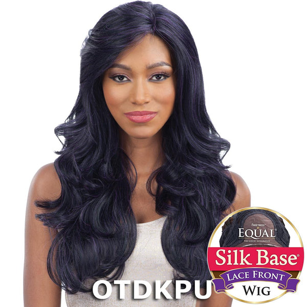 FreeTress Equal Silk Base Lace Front Wig - SILK NATURAL