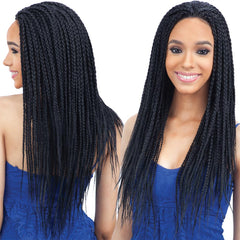 FreeTress Equal Braid Hair Lace Front Wig - BOX BRAID