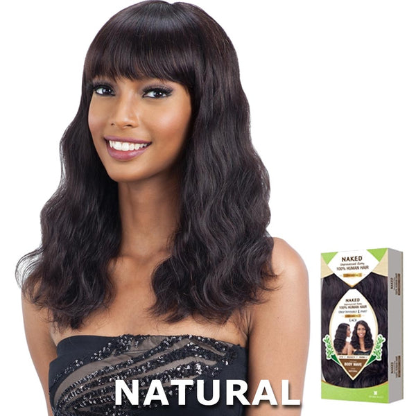 Naked Unprocessed Brazilian Hair Wig - S-WAVE