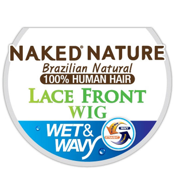 Naked Nature Wet & Wavy Hair Lace Front Wig - DEEP CURL
