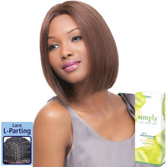 Simply Non-Processed Brazilian Hair Lace Front Wig - NATURAL STRAIGHT BOB