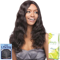 Simply Non-Processed Brazilian Hair Lace Front Wig - NATURAL WAVE