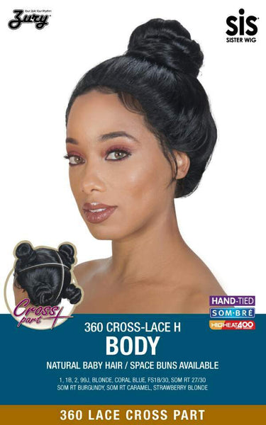Zury Sis 360 Cross Part Lace Front Wig - BODY