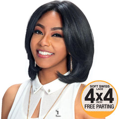 "Zury Sis Beyond 4""X4"" Free-parting Lace Front Wig - TALIA"