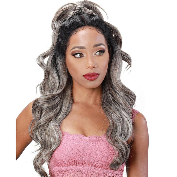 Zury Sis Beyond Twin-Part Lace Front Wig - BLAST 24""