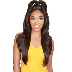 Zury Sis Beyond Twin-Part Lace Front Wig - BAO 24""