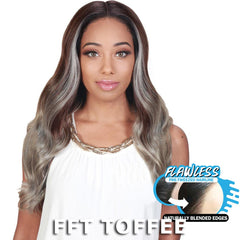 Zury Sis Royal Flawless Pre-Tweezed Hairline Lace Front Wig - LADY