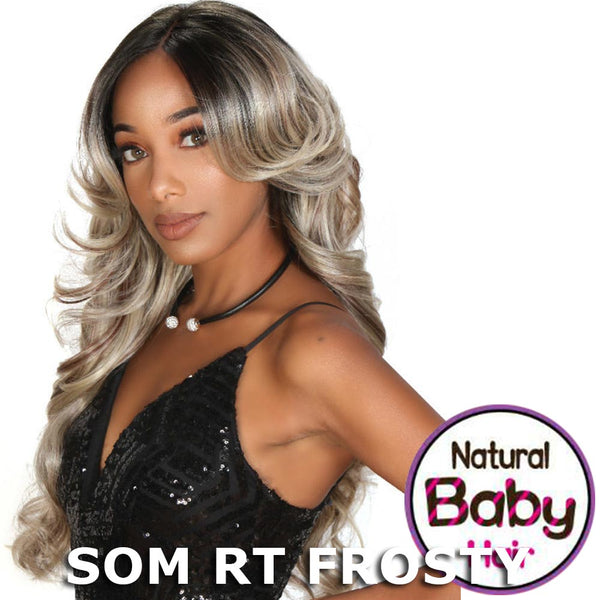 Zury Sis Glam Natural Baby Hair Lace Front Wig - MYRA