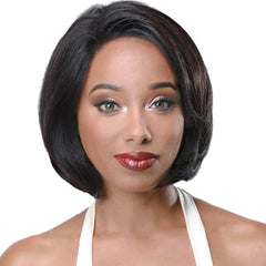 "Zury Sis Unprocessed Human Hair Lace Front Wig - VILLA (10"")"