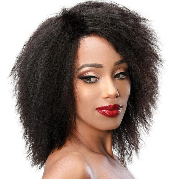 Zury Sis NaturaliStar Blow-out Texture 100% Human Hair Wig - PURE 12""