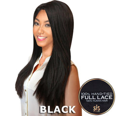Sis Royal 100% Human Hair Swiss Full Lace Wig - GOLD