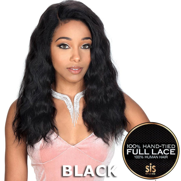 Sis Royal 100% Human Hair Swiss Full Lace Wig - RUBY