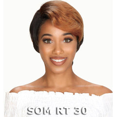 Zury Sis Hollywood 100% Human Hair Wig - BEL