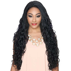Hollywood Sis Afro Lace Braid Wig - BAHAMA