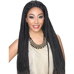 Hollywood Sis Afro Lace Braid Wig - BOX
