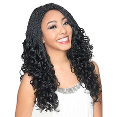 Hollywood Sis Afro Lace Braid Wig - DOMINICA