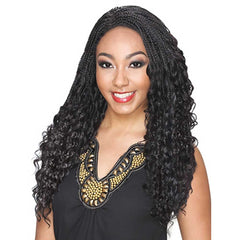 Hollywood Sis Afro Lace Braid Wig - JAMA