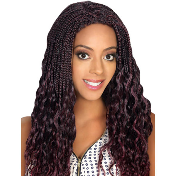 Hollywood Sis Afro Lace Braid Wig - JERRY