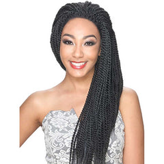 Hollywood Sis Afro Lace Braid Wig - SENEGALESE