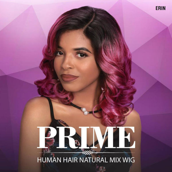 Sis Prime Human Hair Blend Lace Front Wig - ERIN