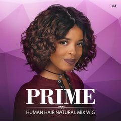 Sis Prime Human Hair Blend Lace Front Wig - JIA